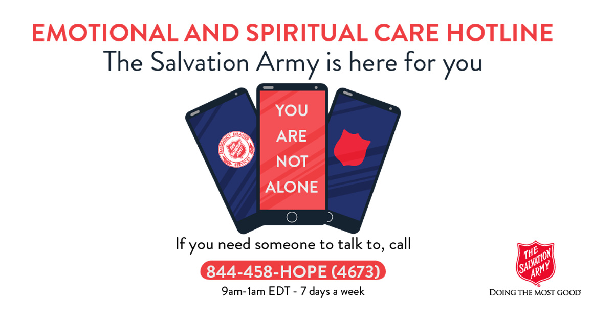 Emotional and Spiritual Care Hotline