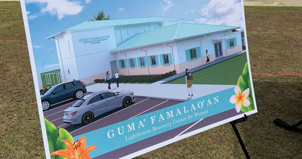 The groundbreaking ceremony for The Salvation Army's Lighthouse Recovery Center for Women took place earlier this year at the Guam Corps' Tiyan Headquarters. The center will be called Guam Famalao'an, Chamoru for Women's House. The women's treatment center is funded through a grant from the Guam Housing and Urban Renewal Authority and will expand the Lighthouse Recovery Center's services to include a facility for inpatient treatment.